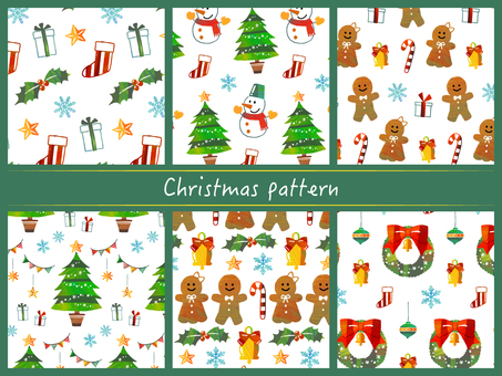 クリスマスパターン