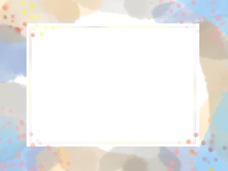 Watercolor frame