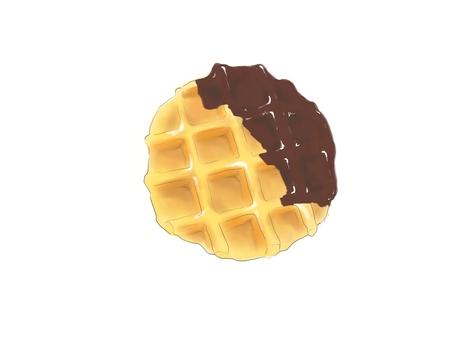 와플 초콜릿 2