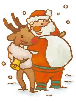 A _ Santa-san _ friend