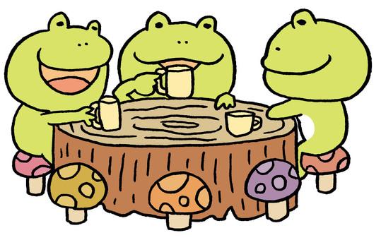 Frog cafe