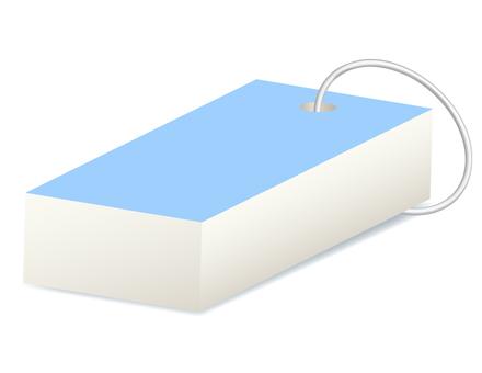 A light blue word book