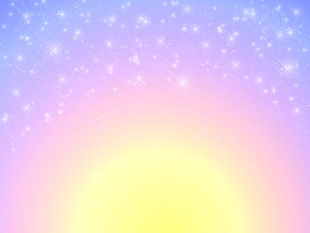 Pastel night sky