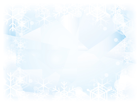 Ice and snow background