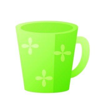 머그컵 (녹색)