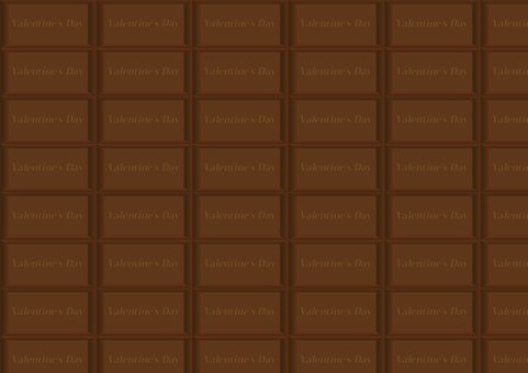 Plate chocolate background (with text)