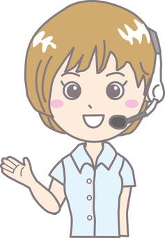 Operator female short sleeve 2