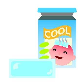 Cooling sheet