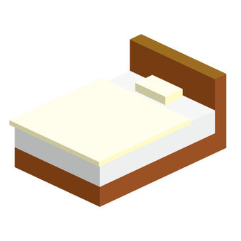 Bed futon included (no wire)