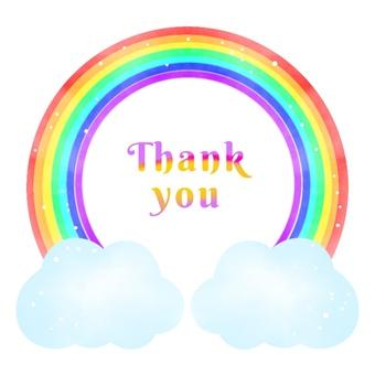 Rainbow Frame, Thank You
