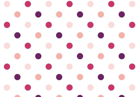 Dot ● Pink retro