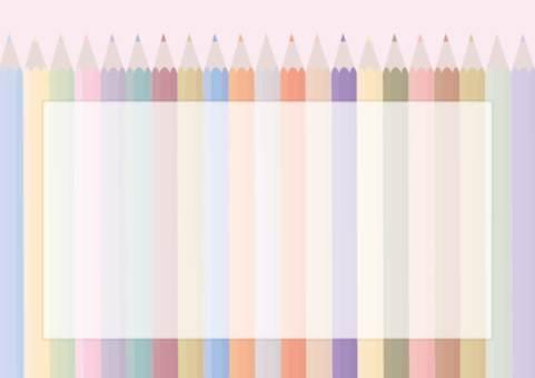 컬러 연필 배경