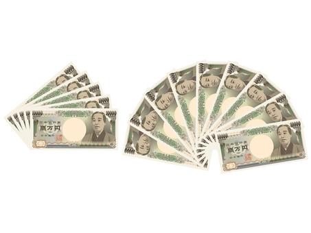 Money ten thousand yen bill