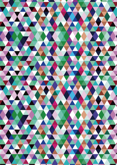 Geometrical pattern multi-color