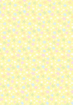 Star pattern wallpaper yellow