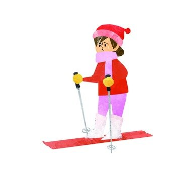 Girls to ski