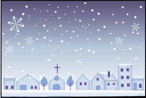 Snowy Town
