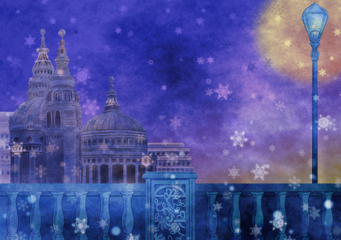 London background illustration