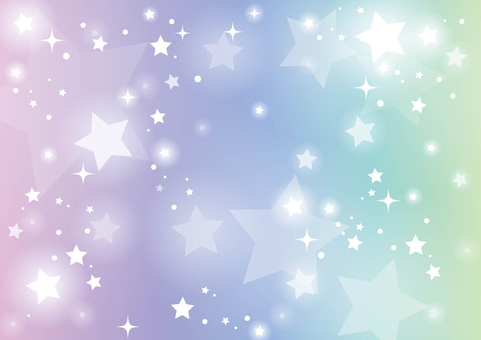 Rainbow color starry sky background 02