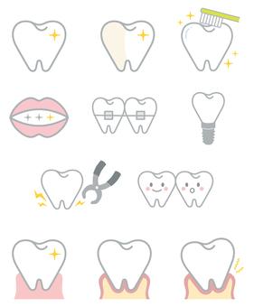 Various teeth