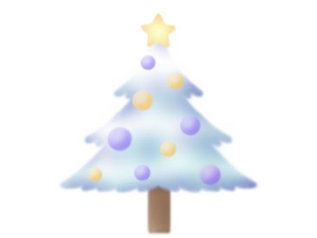 White tree (purple)