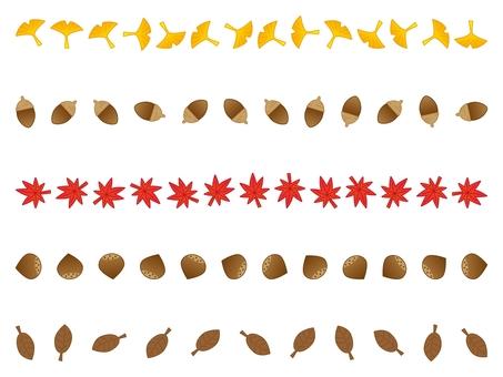 Autumn line set 02