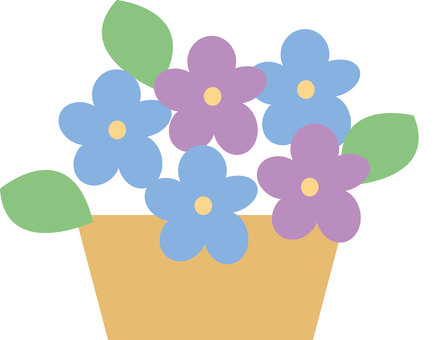 Potted plants - Flower 2