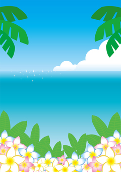 Summer flyer background