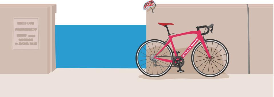 Embankment and road bike 3