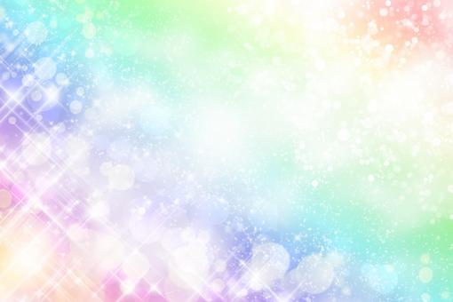 Glittering rainbow background