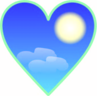 Weather Wind Heart Moon