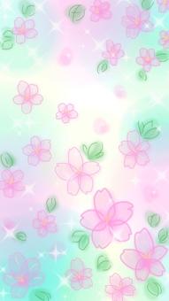 Spring breeze cherry tree (pink)
