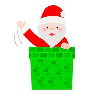 Chimney and Santa (1)