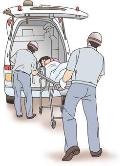 救急車搬送