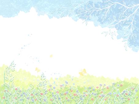 Spring landscape 12