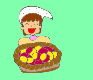 Seasonal taste (sweet potato)
