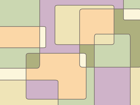 Geometric pattern background material 03 / yellow