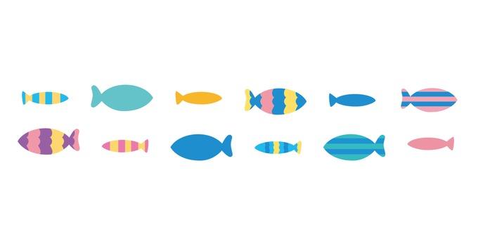 물고기 라인