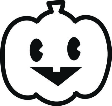 Monochrome Pumpkin
