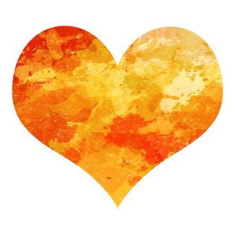 Watercolor Heart 5