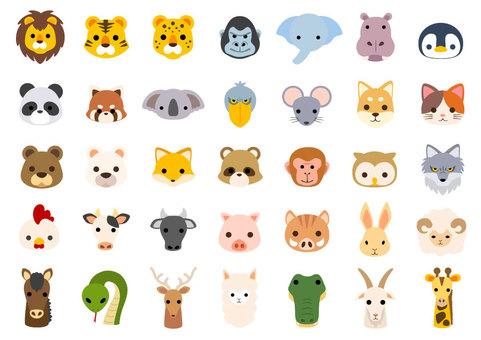 Animal head set