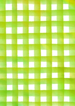 Check patterned watercolor texture Texture yellowish green