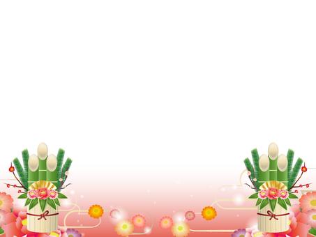Kadomatsu's decorative frame 7