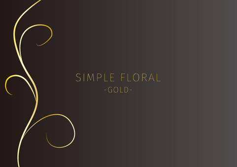 Floral card 002