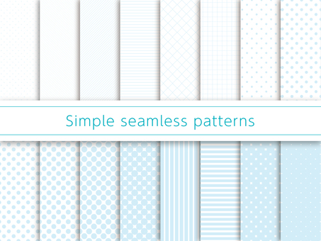 Simple pattern Swatch Blue