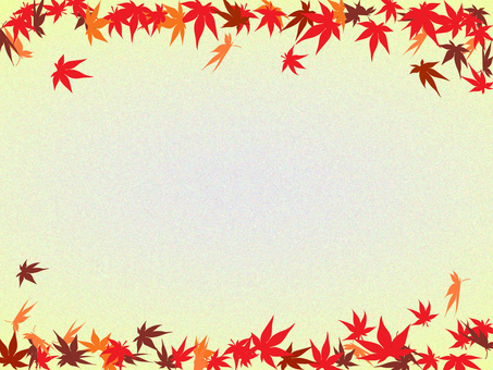 Autumn leaves frame 4
