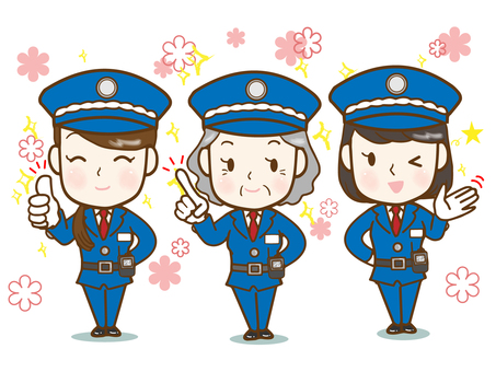 Security guard 3 (female only)