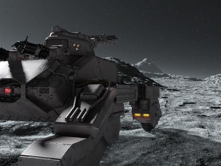 惑星上の戦車