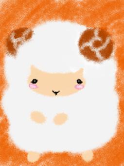Postcard sheep ♪