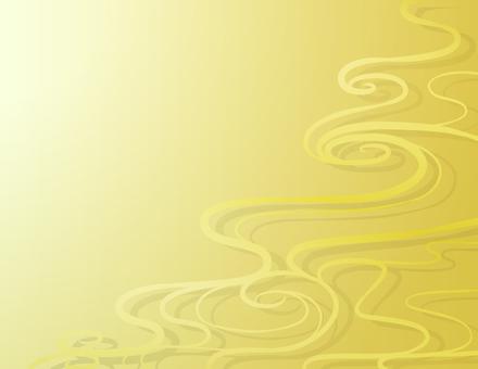 Wave background _ gold